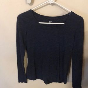 Gap fitted extra small long sleeve tee